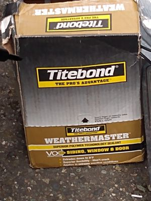 Titebond sealent for Sale in Tacoma, WA