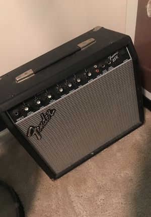 Fender 25R electric guitar amplifier and connecting chord for guitar for Sale in Ralph, AL