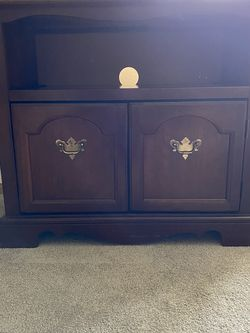Solid Cherry TV Stand / Cabinet for Sale in Tacoma,  WA