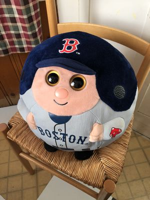"Red Sox Beanie Ballz by TY. (Large 13"") Plush pillow, stuffed animal. for Sale in Redlands, CA"