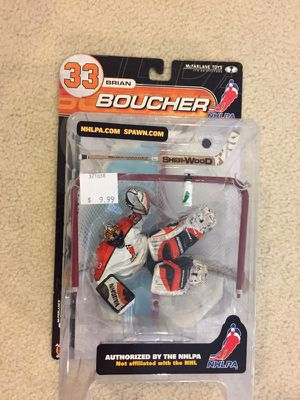 2000 McFarlane NHLPA Series 2 Brian Boucher NHL Hockey Goaltender Action figure for Sale in Riverview, FL