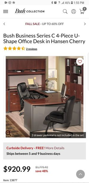 Bush Business Furniture Office Desk for Sale in Los Angeles, CA