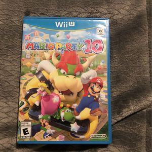 Wii U Mario Party 10 Game for Sale in Austin, TX