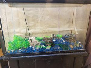 40 gal aquarium ( fish tank) $100 for Sale in Los Angeles, CA