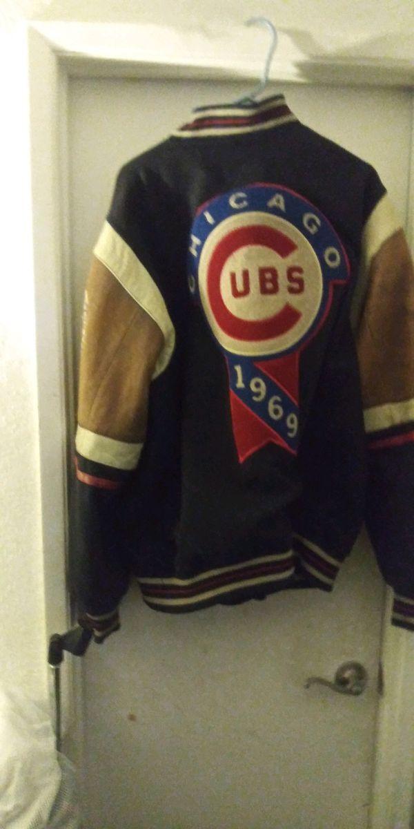 100 percent leather coat@ Chicago club jacket