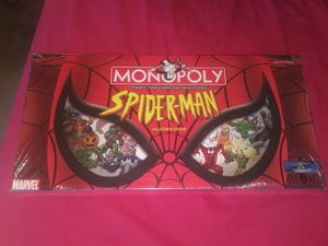 Spider Man Monopoly Brand New Sealed for Sale in Germantown, MD