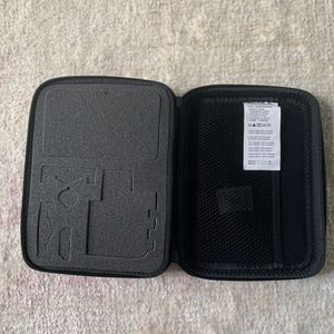 Gopro carrying case 9*7*2.5inches black for Sale in Plano, TX