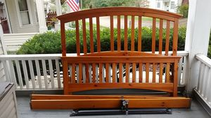 Queen size bed frame for Sale in Mount Vernon, OH