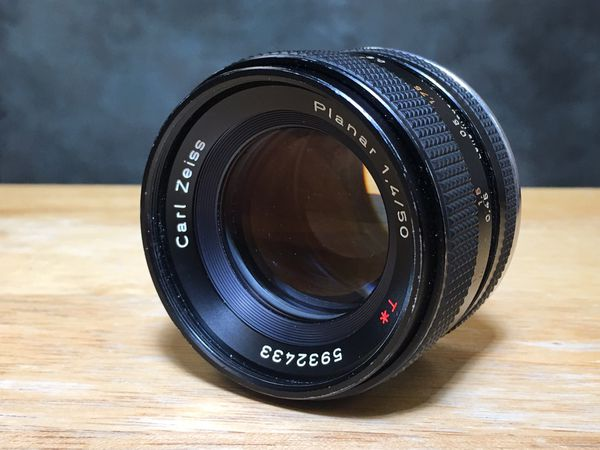 Carl Zeiss Contax 50mm 1.4 manual lens for Canon
