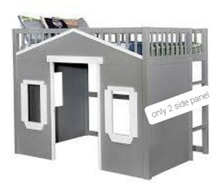 WOOD PLAY HOUSE DESIGN TWIN SIZED BED for Sale in North Las Vegas, NV