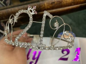 21st birthday crown decoration for Sale in Jurupa Valley, CA