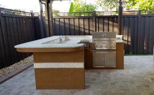 Outdoor Kitchen with Granite Countertop for Sale in Miami, FL
