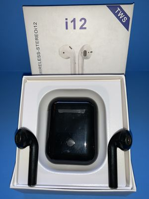 EarPods i12 Mini BLACK for Sale in Los Angeles, CA
