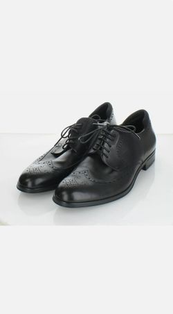 Hugo Boss Men's Black Wingtips Oxford's Shoes Formal Shoes for Sale in Kent,  WA