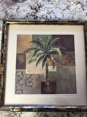 Decorative Palm Tree Picture for Sale in NO POTOMAC, MD