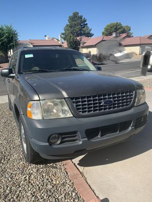 Ford Explorer 2003 XLT 183000 miles automatic 3 Seats Row needs only some minor repairs runs good 4.6 Lit. CASH ONLY,HABLO ESPANOL.. for Sale in Las Vegas, NV