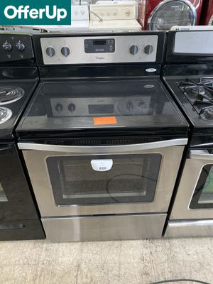 📢📢Whirlpool Electric Stove Oven Stainless Steel Black #984📢📢 for Sale in Orlando, FL