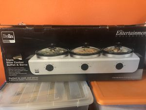 Slow cooker buffet server for Sale in Long Beach, CA
