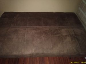 Brown futon lightly used for Sale in Columbus, OH