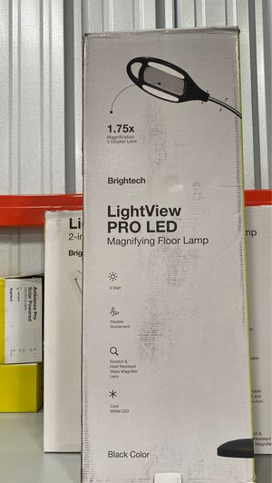 Brightech LightView Pro LED Magnifying Floor Lamp for Sale in Long Beach, CA