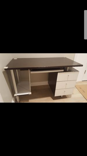 Office furniture set table with bookcase storage for Sale in Grove City, OH