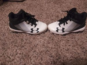 Kids under armour cleats for Sale in Casper, WY
