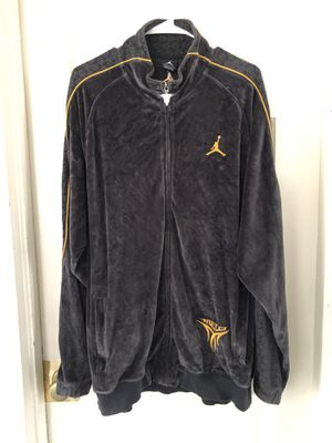 "Air Jordan Velour Carmelo ""Melo"" Jacket Men's Large near new for Sale in Lake Forest Park, WA"