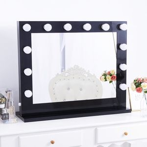 $180 (new in box) hollywood led vanity mirror with 12 dimmable light bulbs beauty makeup 32x26 inches for Sale in Pico Rivera, CA