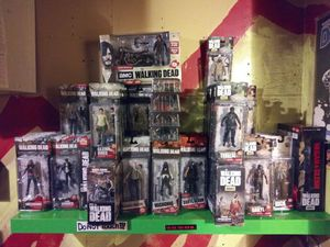 The Walking Dead action figures for Sale in Brooklyn, NY
