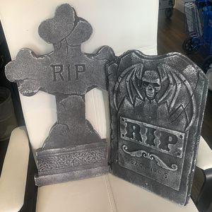Halloween Foam Tombstones for Sale in Seattle, WA