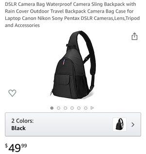Waterproof camera bag, new for Sale in Ontario, CA