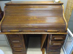 Antique/Vintage Wooden Desk for Sale in Poulsbo, WA