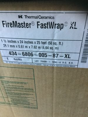 FireMaster Fastwrap for Sale in Cary, NC