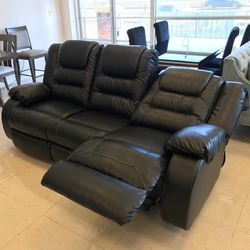 Black Reclining On Display And Instock Living Room Set, From An Actual, By Ashley for Sale in Laurel,  MD