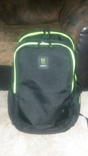 •MONSTER• Brand Backpack for Sale in Barstow, CA
