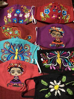 Cubrebocas / Mask / Artesanal / embroidered / for Sale in Houston, TX