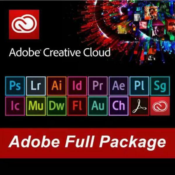 Adobe Master Suite CC, Photoshop, Illustrator, Premiere, Acrobat and more