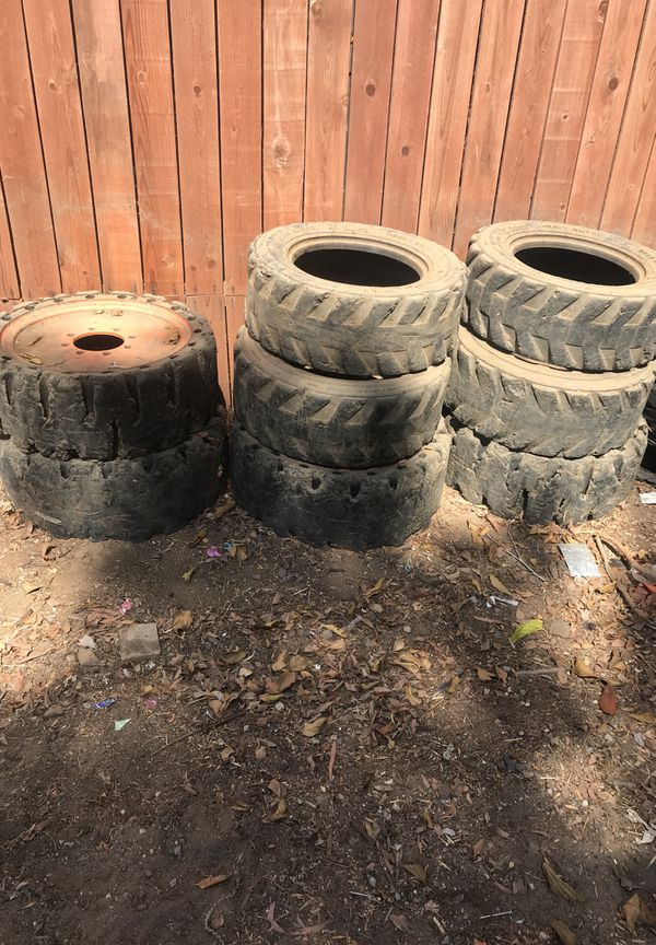 Bobcat wheels and tires