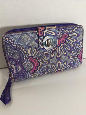 Vera Bradley full size wallet for Sale in Hemet, CA