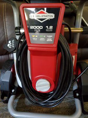 Briggs and Stratton 2000 max psi and 1.2max gpm for Sale in Hampton, VA