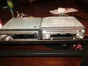 Jvc kd-g340 and a pioneer Super tuner 3d for Sale in Penn Laird, VA