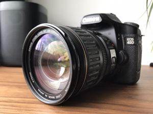 Canon 40D digital dslr camera w/ 24-135mm lens for Sale in Chicago, IL