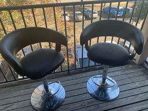 Two faux leather bar stools for Sale in Austin, TX