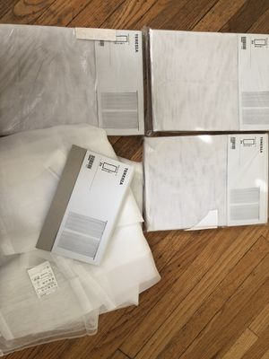 Teresa Sheer curtains for Sale in Affton, MO