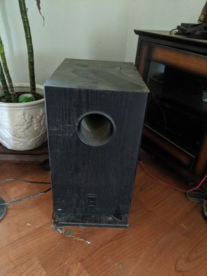Onkyo subwoofer for Sale in Merced, CA