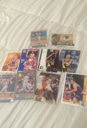 Huge lot of baseball and Basketball cards for Sale in Morrow, GA