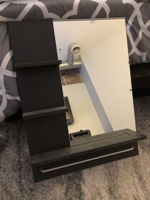 Mirror with shelving for Sale in Medford, MA