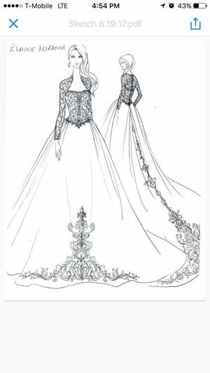 Royal wedding dress for Sale in Houston, TX