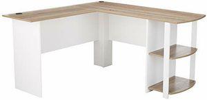 L-Shaped Desk with Bookshelves for Sale in Hillsboro, OR