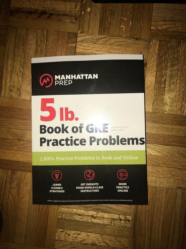 GRE Prep practice problems